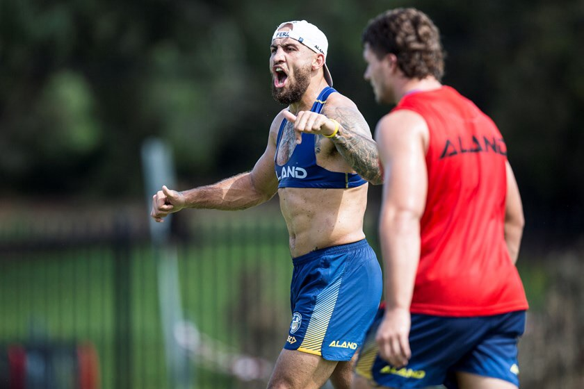 Eels Pre-Season Training – Wrapping It Up Edition