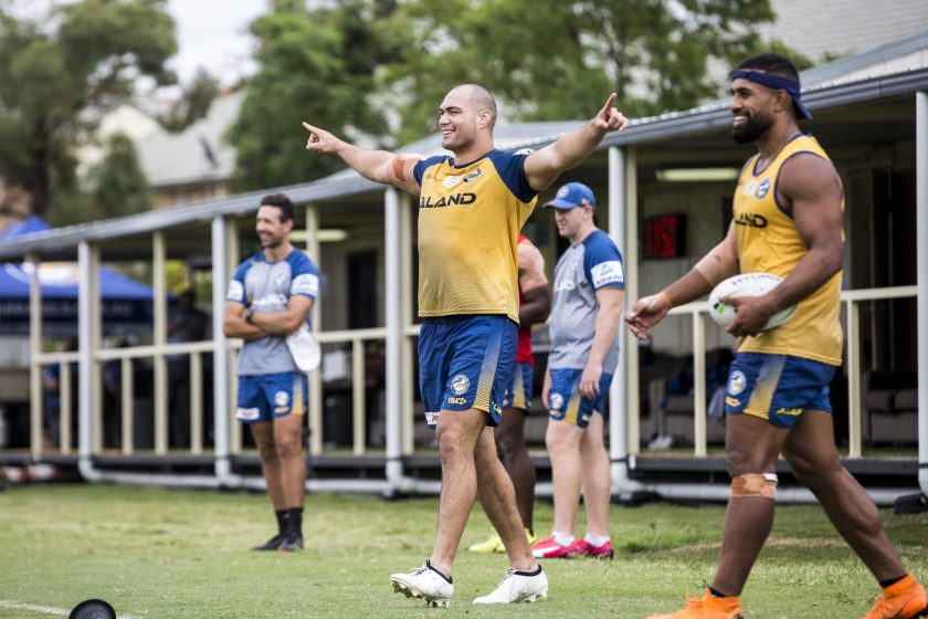 Eels Pre-Season Training – February 22, 2019: Can We Talk?