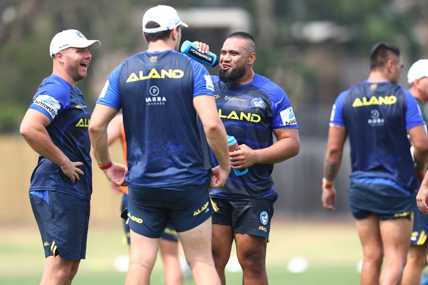 Eels Pre-Season Training – December 9,  2019: The Gang's (Almost) All Here