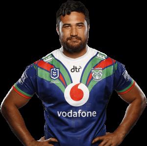 Peta Hiku of the New Zealand Warriors