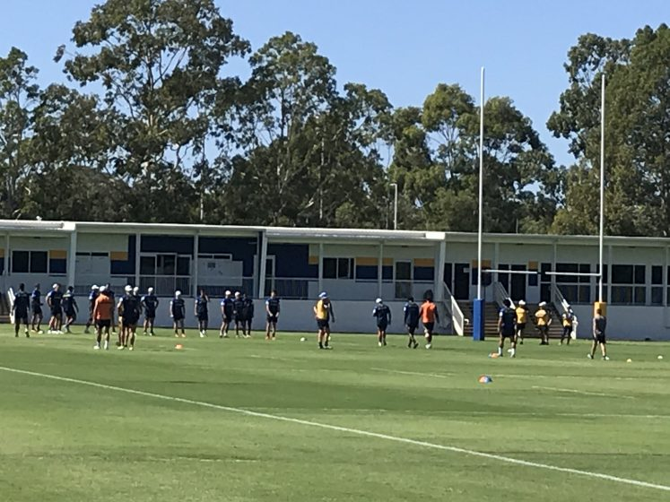 """Eels Pre-Season Training – December 7 & 8, 2020: Oggy & Stone, """"Don't You Forget About Me"""""""