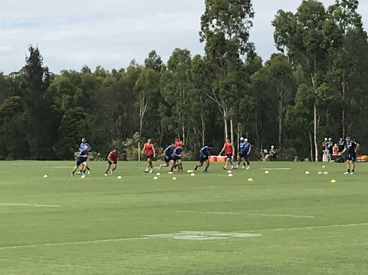 Eels Pre-season Training – January 8, 2021: Does Opacic Solve The Centre Question?