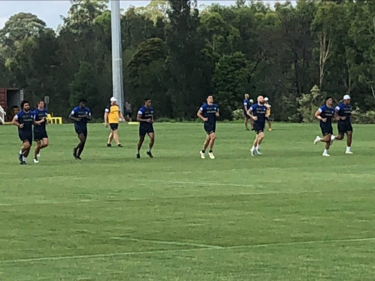 Eels Pre-Season Training – January 4 and 5, 2021: Fergo Returns